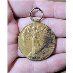 WW1 United Kingdom Victory Medal Named