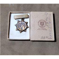 WW1 Brothers of Railroad Trainmen Montana Badge
