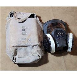 WW2 US Navy Gas Mask