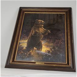 Jerome Jerry Johnson Montana Grizzly Bear Painting