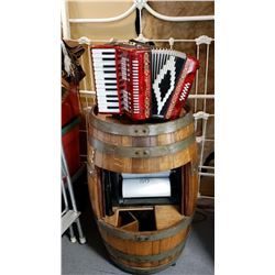 Wine Barrel Accordion Ragtime Automated Music