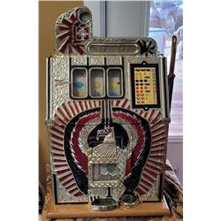 Jennings War Eagle Quarter Slot Machine (Repro)