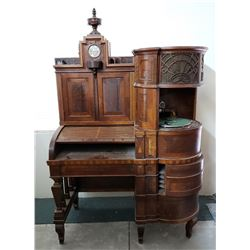 Phenomenal and Rare Custom Phonograph Desk