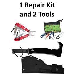 1 x Repair Kit & 2 x Tools