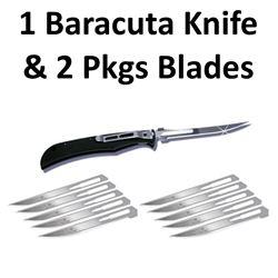 1 x Knife & 2 Pkg Blades