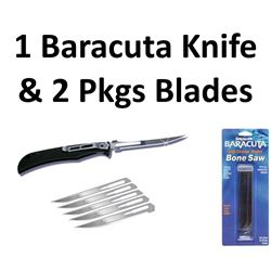 1 x Knife & 3 Pkg Blades