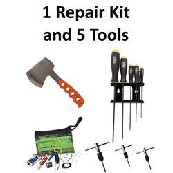 6 x Tools