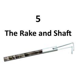 5 x The Rake and Shaft