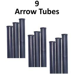 9 x Arrow Tubes