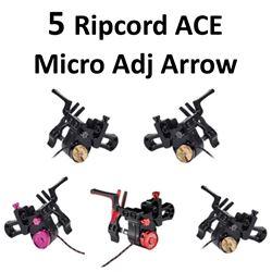 5 x Ripcord ACE Micro Adj Rests