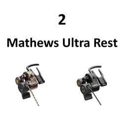 2 x Mathews Ultra Rests