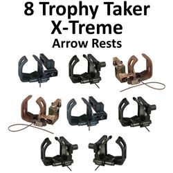 8 x Trophy Taker X-Treme Rests