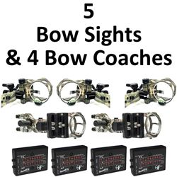 5 x Sights & 4 x Bow Coachs