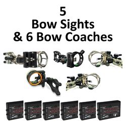 5 x Sights & 6 x Bow Coachs