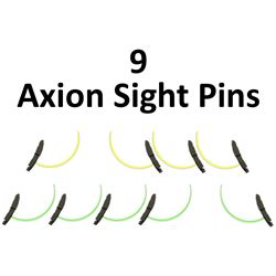 9 x Axion Sight Pins