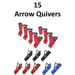 15 x Arrow Quivers