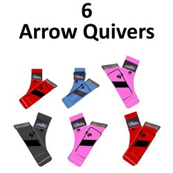 6 x Vista Quivers