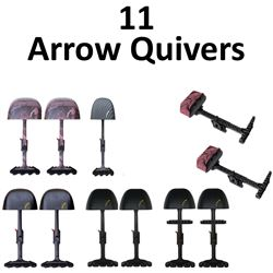 11 x Arrow Quivers