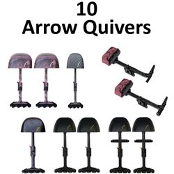 10 x Arrow Quivers