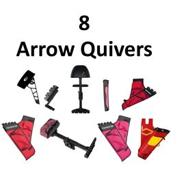 8 x Arrow Quivers