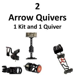 2 x Arrow Quivers