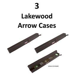 3 x Lakewood Arrow Cases