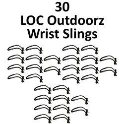 30 x LOC Outdoorz Wrist Sling