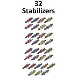 32 x Pine Ridge Stabilizers