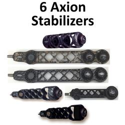 6 x Axion Stabilizers