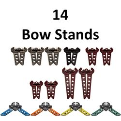 14 x Bow Stands