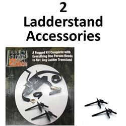 2 x Ladderstand Accessories