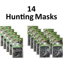 14 x Hunting Masks