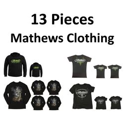 13 x Mathews Clothing