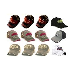 12 x Mathews Hats