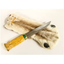 FINLAND MADE KNIFE WITH PAW SHEATH