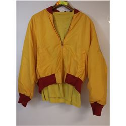 1950S CANADIAN MOTORCYCLE RACE JACKET WITH RARE