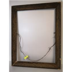 ANTIQUE PICTURE FRAME ORNATE