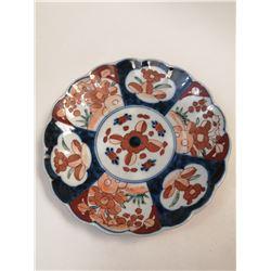 1700S IMARI JAPANESE DISH HAND PAINTED