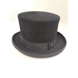 VINTAGE SMITHBILT TOP HAT BLACK SMALL