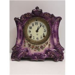 1800S AMERICAN ANSONIA WONDER MANTLE CLOCK