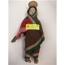 1930S MALAYSIAN DOLL IN AUTHENTIC CLOTHING