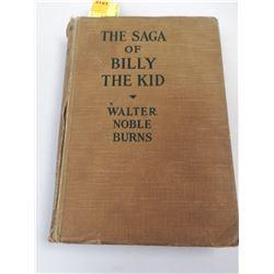 1926 SAGA OF BILLY THE KID WESTERN BOOK