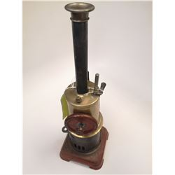 ANTIQUE UPRIGHT STEAM ENGINE MODEL