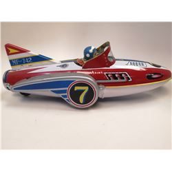 VINTAGE FRICTION SPACE CAR TOY