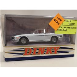DINKY 1:43 1966 TRIUMPH STAG MODEL CAR