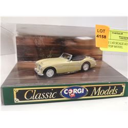 CORGI 1:43 SCALE AUSTIN HEALEY SOFT TOP MODEL