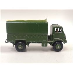 1950S DINKY ARMY WAGON WITH TIN ROOF
