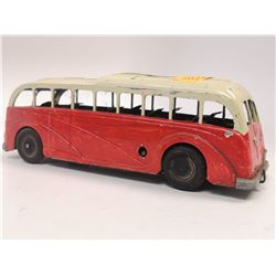 VINTAGE CLOCKWORK BUS MET TOY ENGLAND