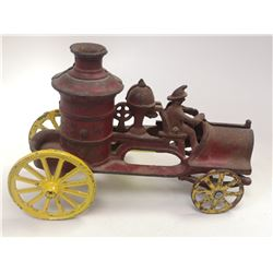 1900S CAST IRON FIRE TRUCK TOY