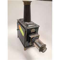 ANTIQUE MAGIC LANTERN WITH SLIDES